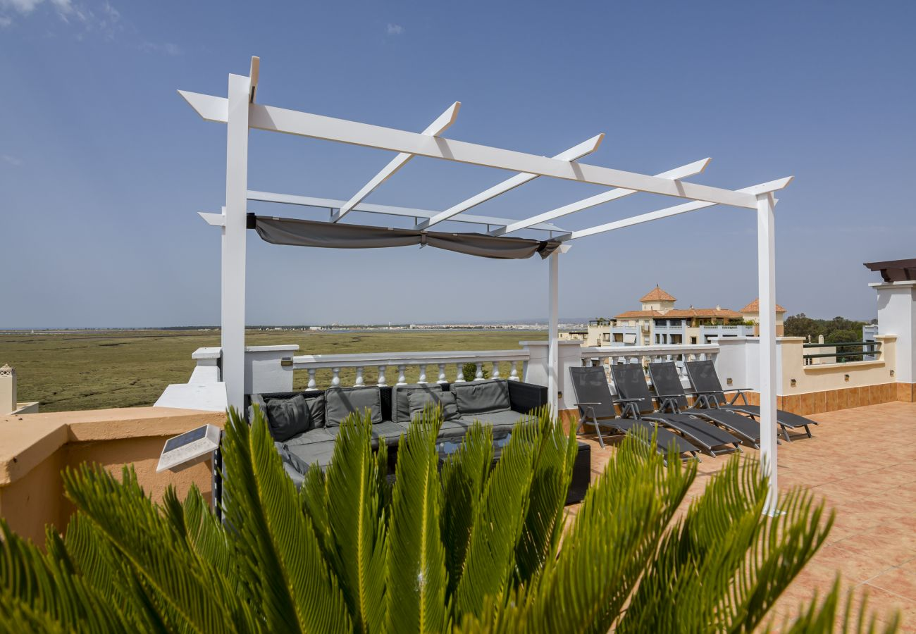 Ferienwohnung in Isla Canela - Atico Las Marismas 59 VFT - PLUS